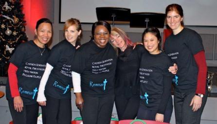 Bible Fellowship Rannan Dance Team with Mac