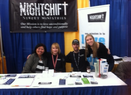 NS_MissionsFest_IRG_NightShift booth_25Jan2014